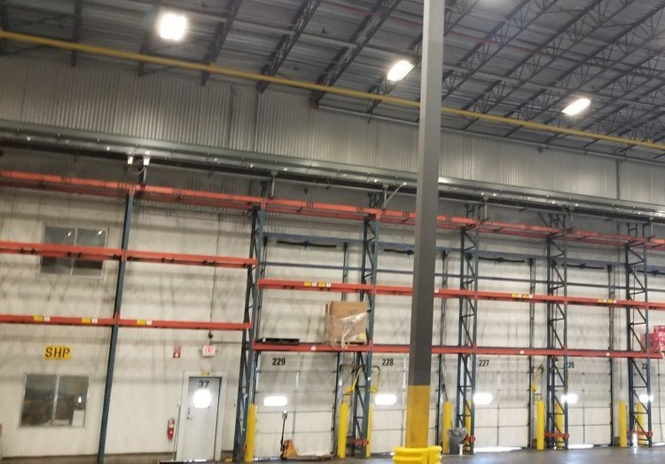 Distribution Center Fall Protection