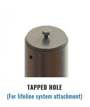 Tapped Hole Tieback Anchor Attachment