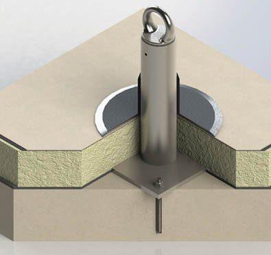 Chemical Adhesive Tieback Anchor