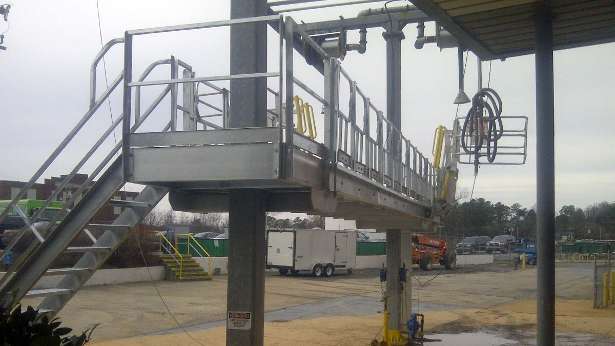 Covered Access Platforms