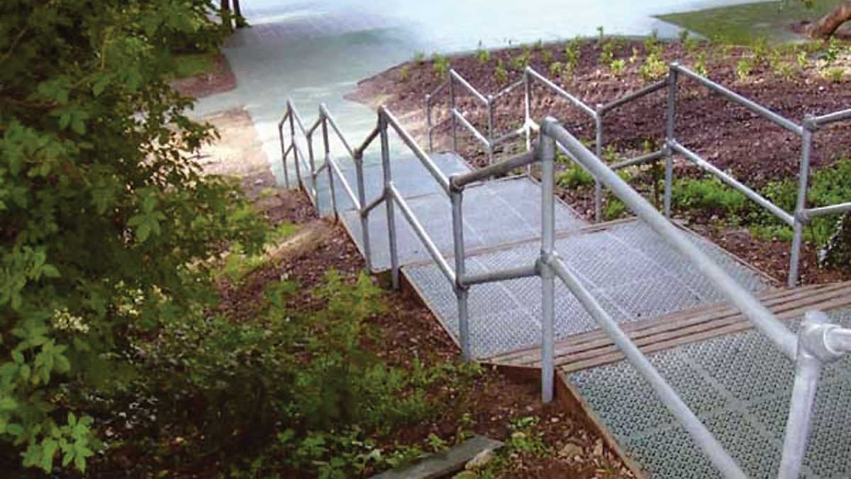 Guardrails for Stairs
