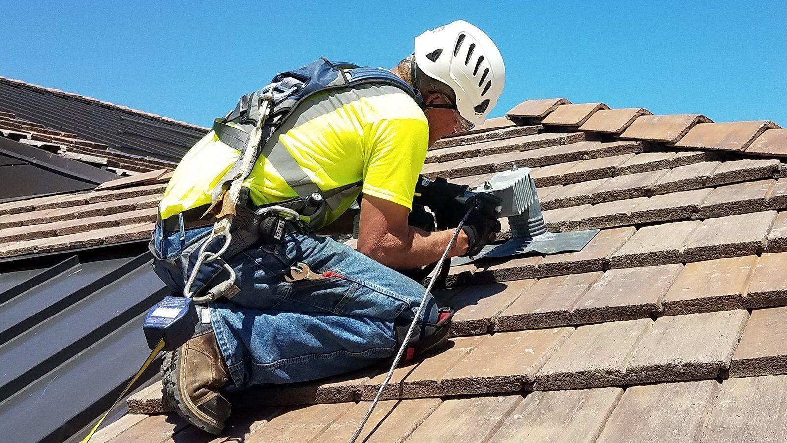 Fall Safety System Installation
