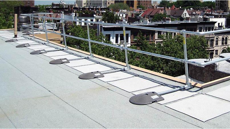 Rooftop Guardrail
