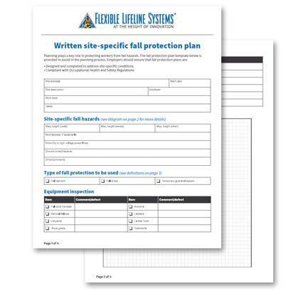 Sample Fall Protection Plan